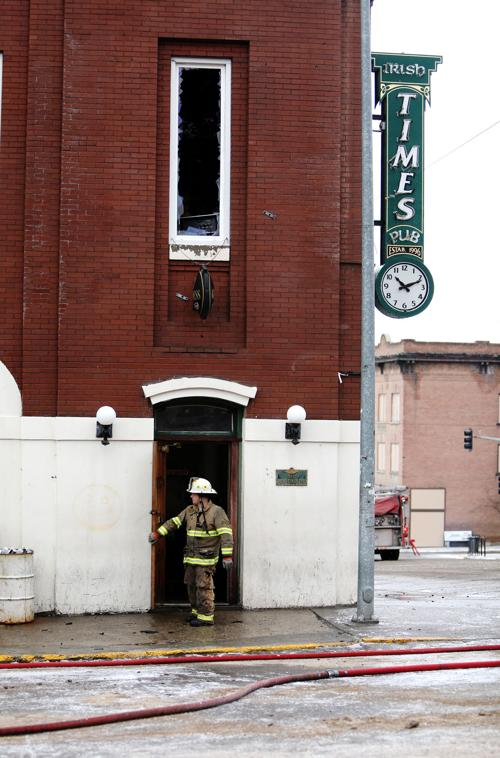 Butte firefighters contain blaze at a historic building in Uptown Butte