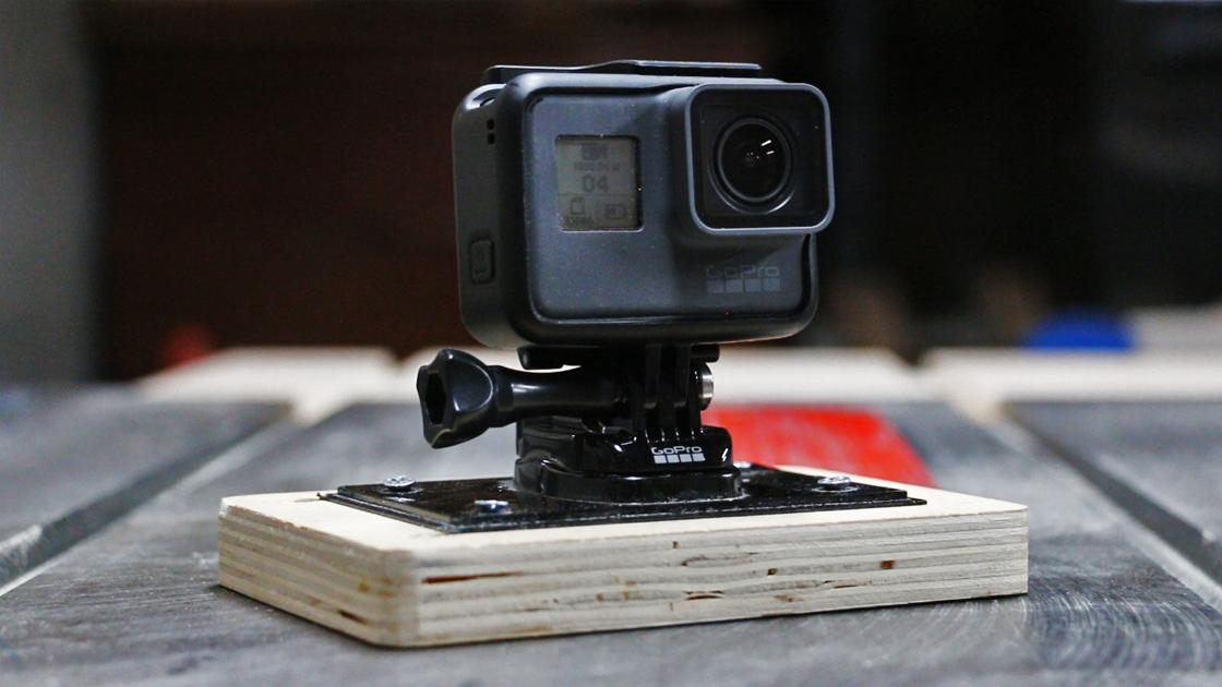 Project Lab: The ultimate DIY GoPro mount