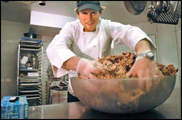 Banking on BBQ - UM business grad's passion for food leads to catering and pulled pork