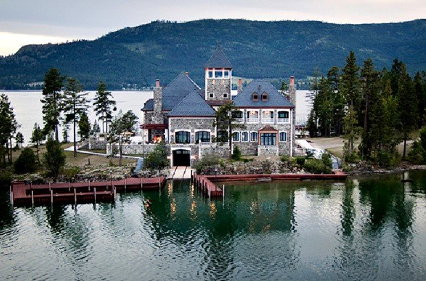 Flathead Lake Island House On The Market For 78 Million