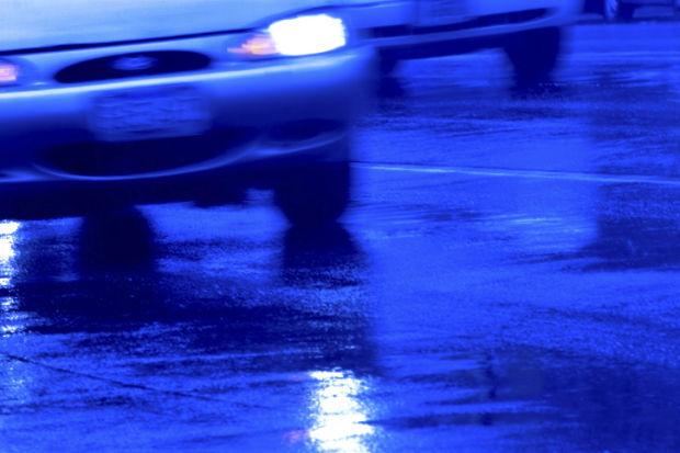 car accident rainy stockimage traffic road highway crash