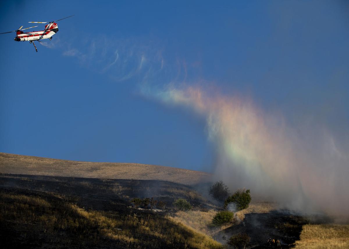 Mount Sentinel fire 01