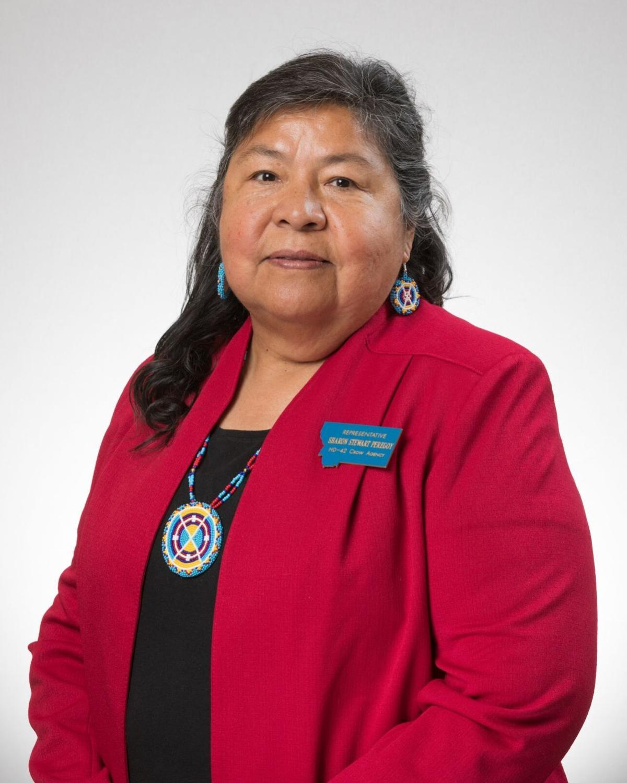 Rep. Sharon Stewart Peregoy, D-Crow Agency