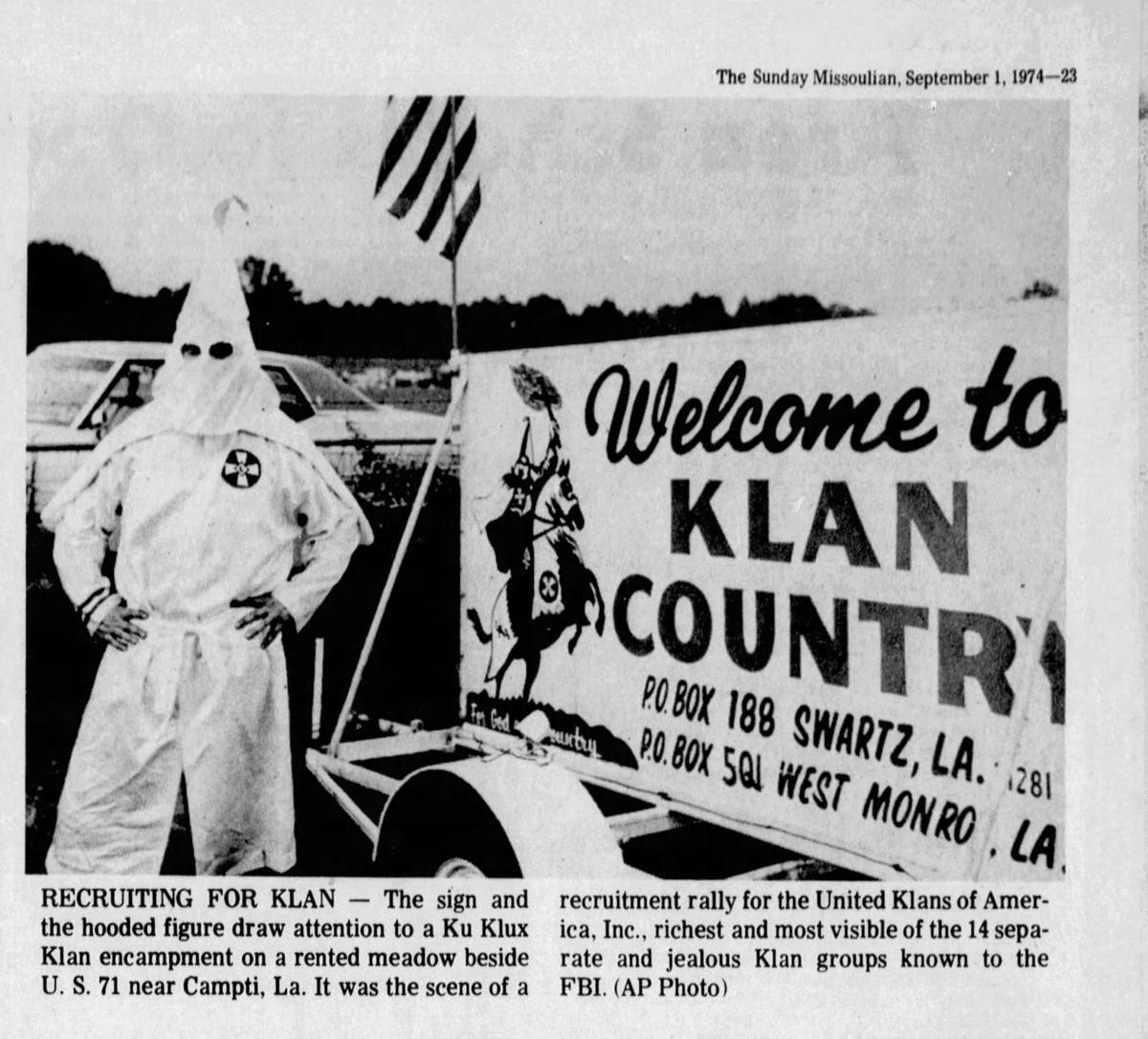 Ku Klux Klan 1974