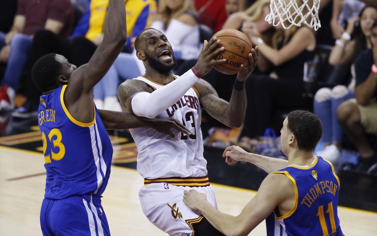 NBA Finals Warriors Cavaliers Basketball (MIS)