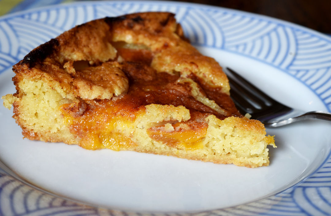 Greg patent peach torte offers variety of textures in 1 slice from the greg patents 2015 recipes series forumfinder Gallery