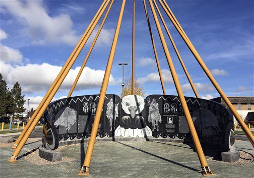 Monument honors tradition of service among tribal members