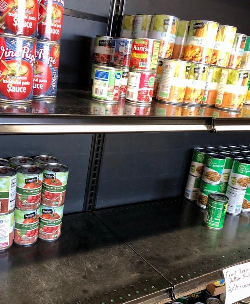 Restocking the shelves 2