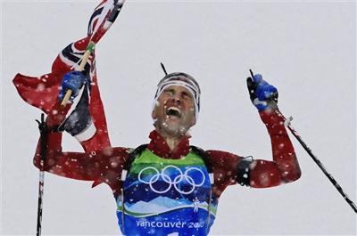 APTOPIX Vancouver Olympics Biathlon