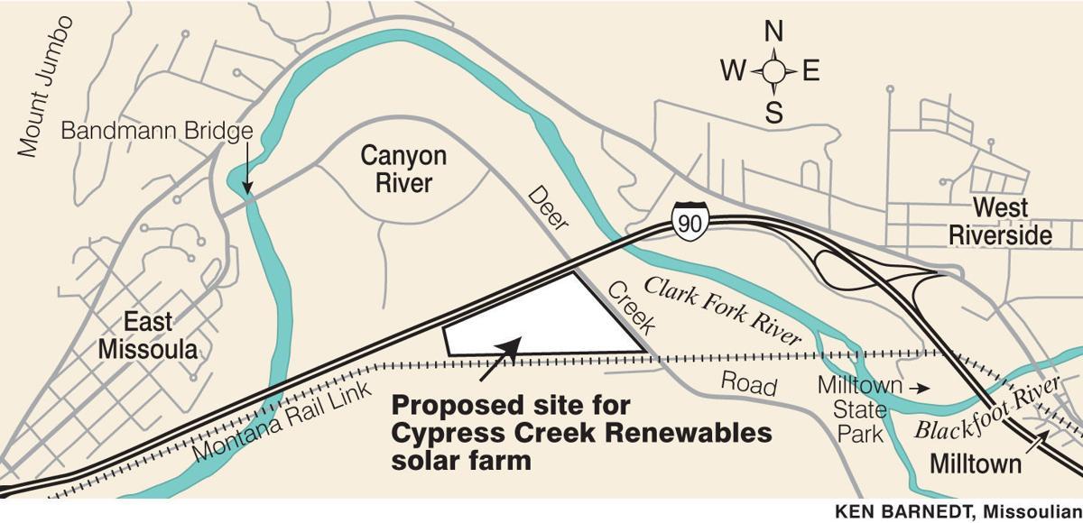 Flats east of Missoula eyed for solar energy farm | Local