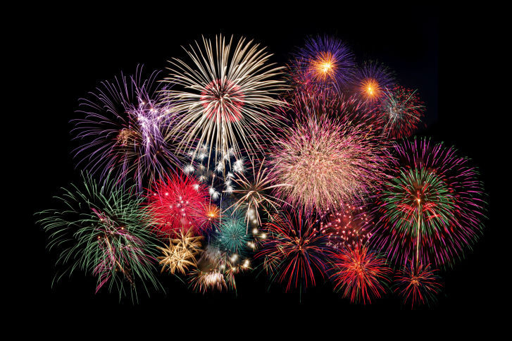 fireworks stockimage