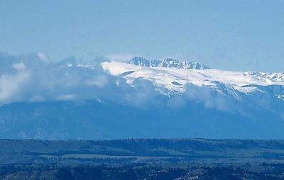 Beartooth snow
