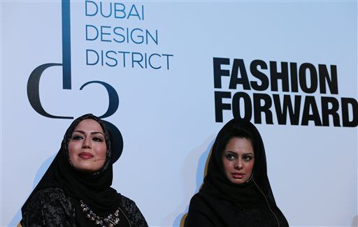 Mideast Fashion Hijabi Hipsters