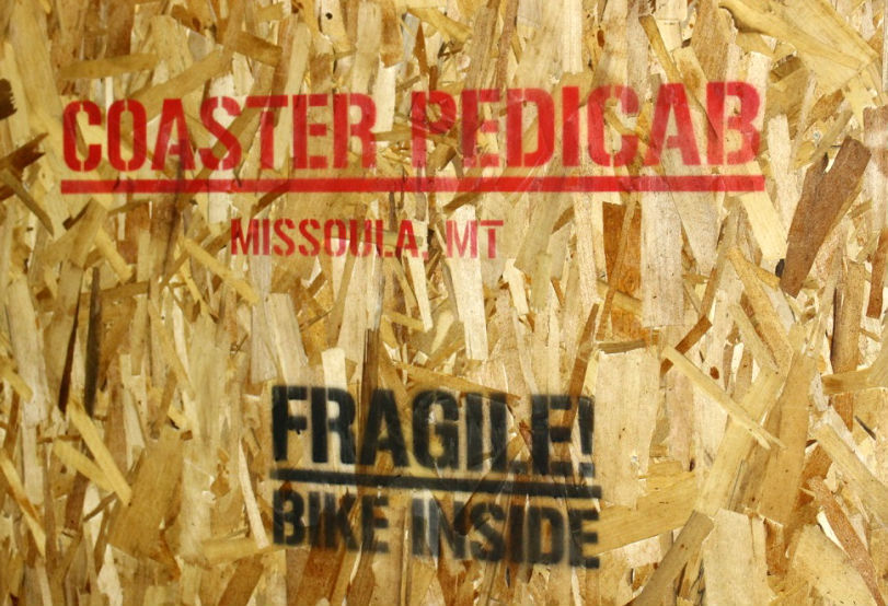 Coaster crate