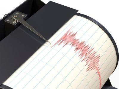 Seismograph earthquake stockimage richter