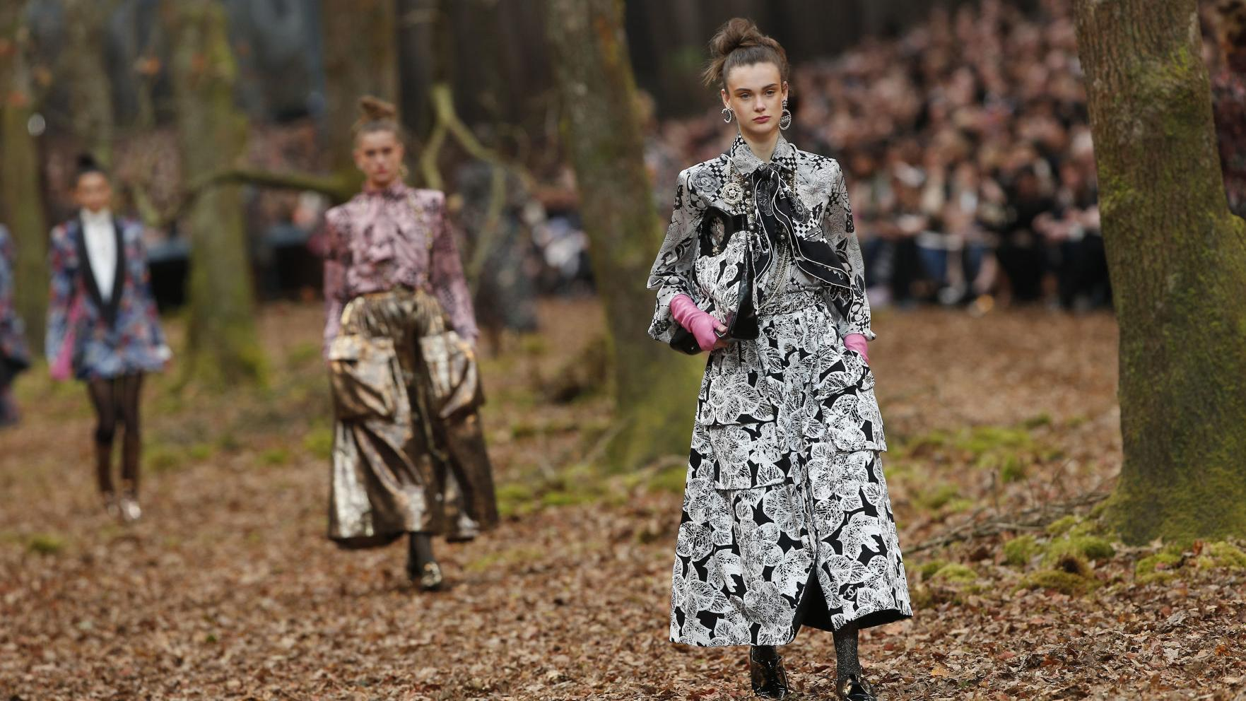 The Roaring Twenties, odes to nature and raw punk: Paris Fashion Week in photos