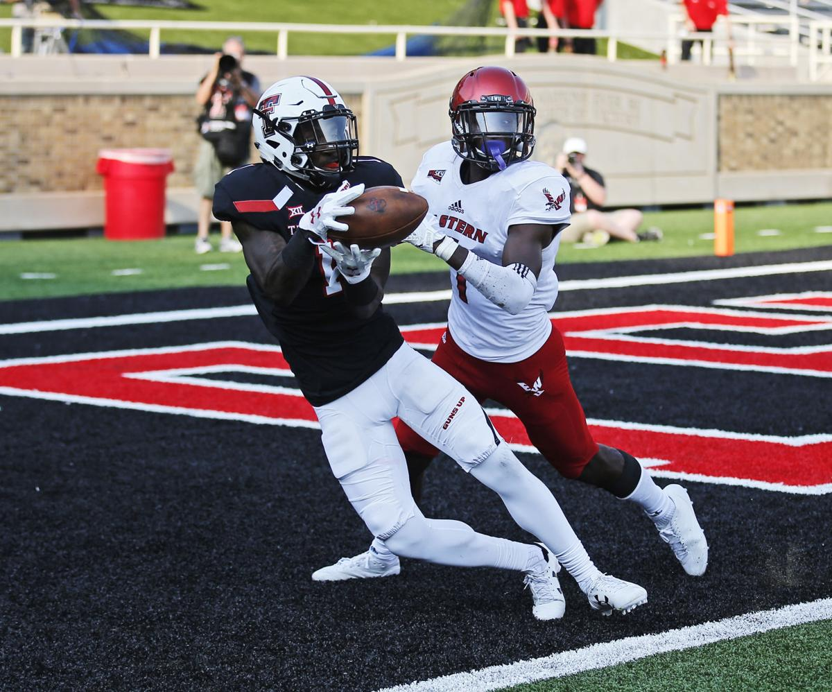 E Washington Texas Tech Football