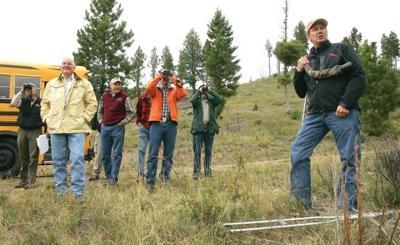 Rye Creek tour touts land swap idea for wildlife habitat