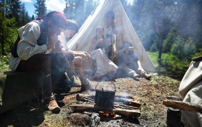 Wildhorse Rendezvous cooking out