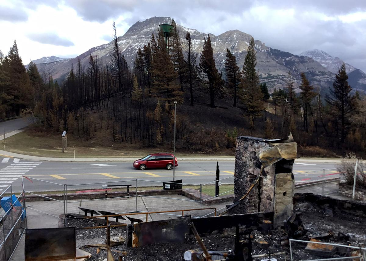 Waterton Park Awaits Recovery After Kenow Fire