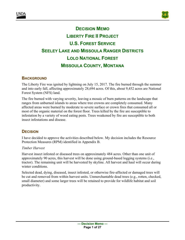 Liberty II decision