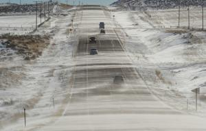 Snow drifts are as tall as 7 feet in parts of central Montana, complicating travel