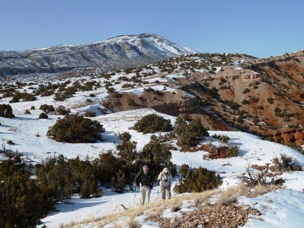 The Montana Wilderness Association offers winter walks