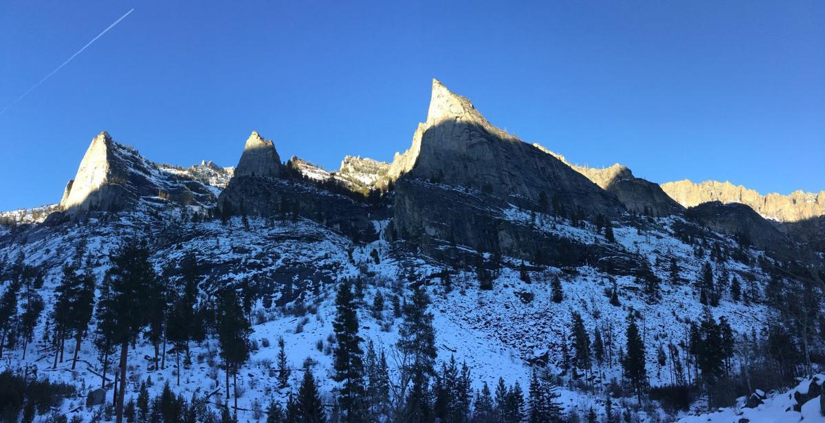 Blodgett Canyon winter