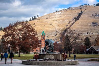 The University of Montana campus
