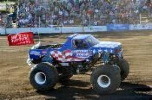 Captain USA Tire Factory Sponsored Monster Truck