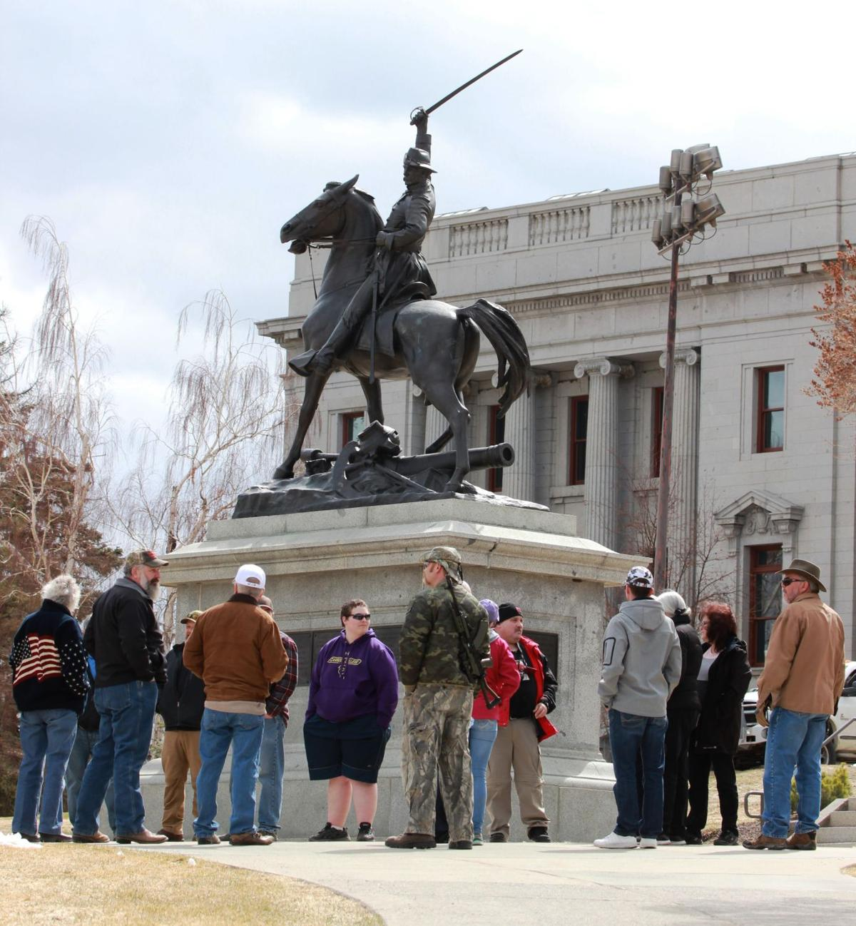 2A Rally in Helena