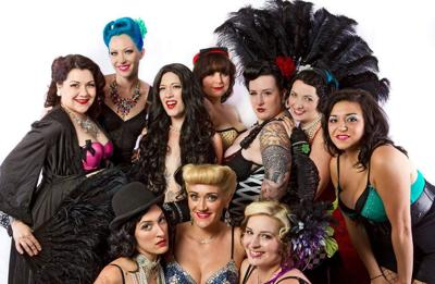 Cigarette Girls Burlesque