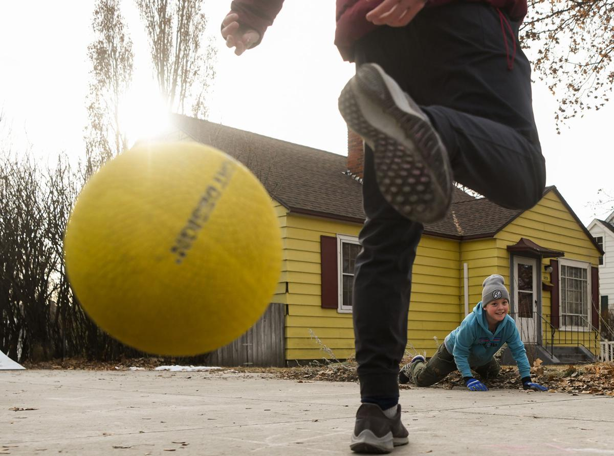 Feature photo: Four square on a sunny Missoula day 01