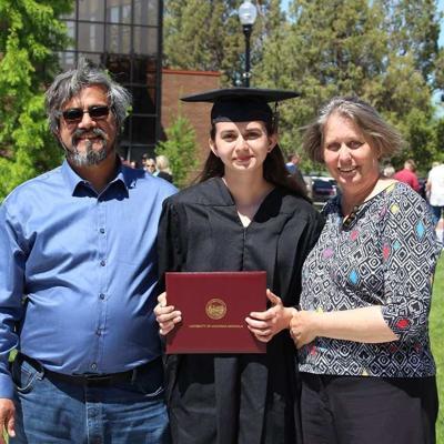 Rebecca Romero, family