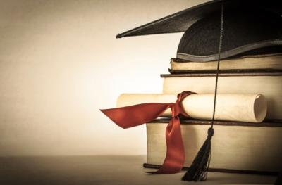 graduation scholarship school college stockimage