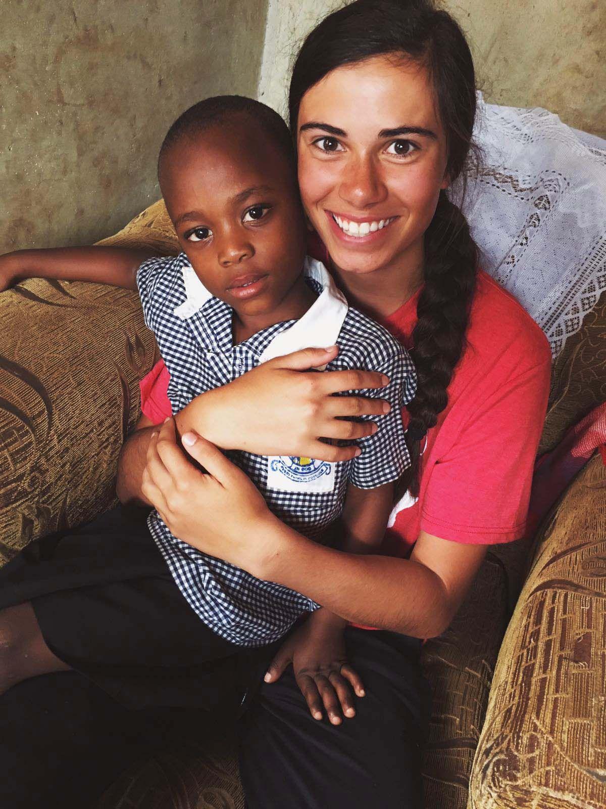 Bella with little boy