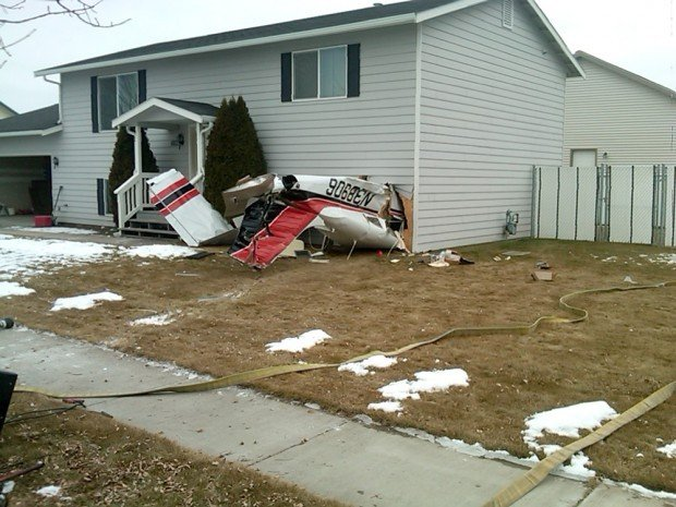 Kalispell Teenager Tells How Plane She Co Piloted Crashed Into House