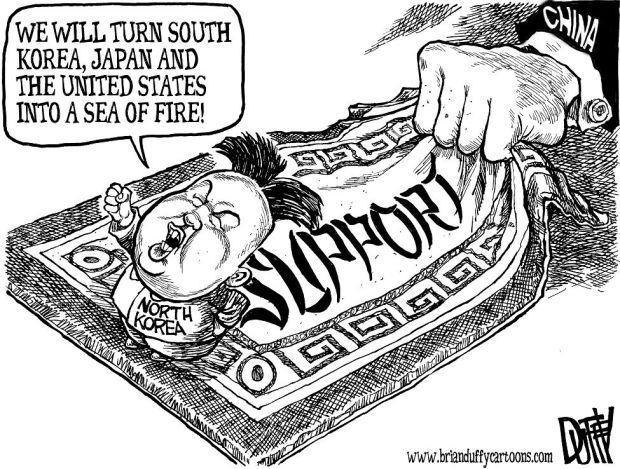 What Do The Senate and North Korea Have In Common ... |Current Political Cartoons North Korea