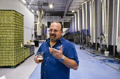 Lewis and Clark Brewing Co. owner Max Pigman
