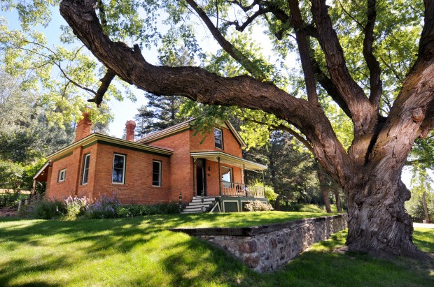Young Family Plans To Preserve Big Old Brick Farmhouse