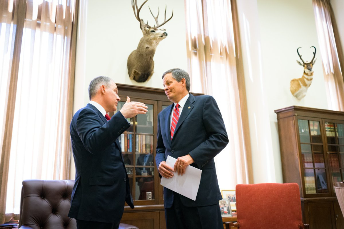 Daines and Pruitt