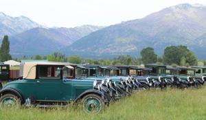 Vintage Chevrolet Four-Cylinder tour cruises through the Bitterroot