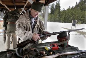 Muzzleloader shooting club brings history to life
