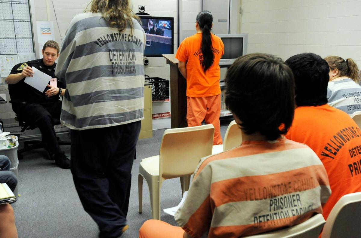 Inmates make video court room appearances