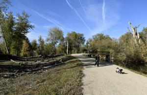West Broadway Island revamp opens up urban natural area