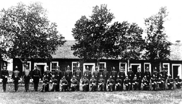 Company B of the 25th Infantry