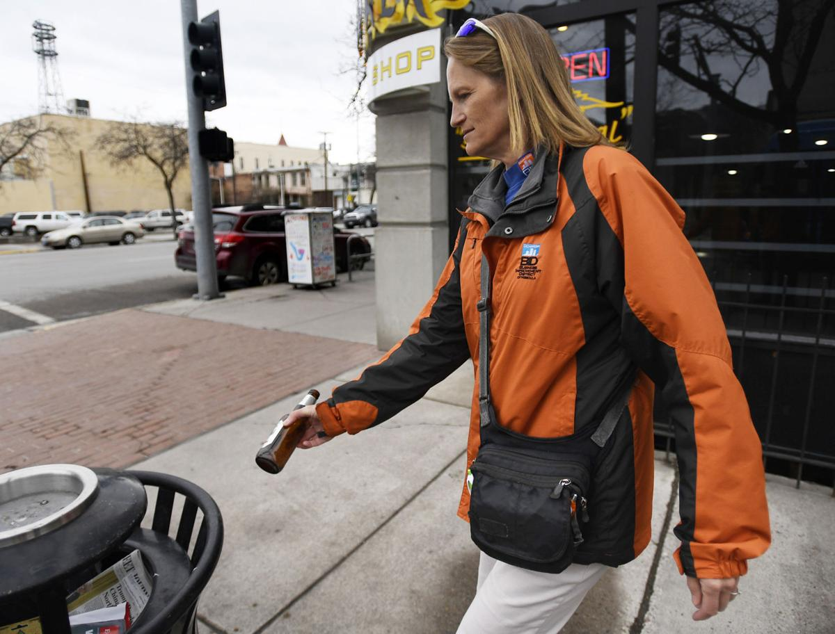 Leather jacket decade - Monday S Montanan Laurie Johnson Retires After A Decade As That Downtown Lady