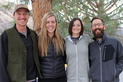 UM forestry graduate students