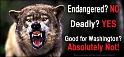 Anti-wolf billboards
