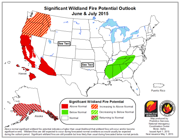 Neptune Jets In Running For New US Forest Service Firebomber - Us wildland fire potential map